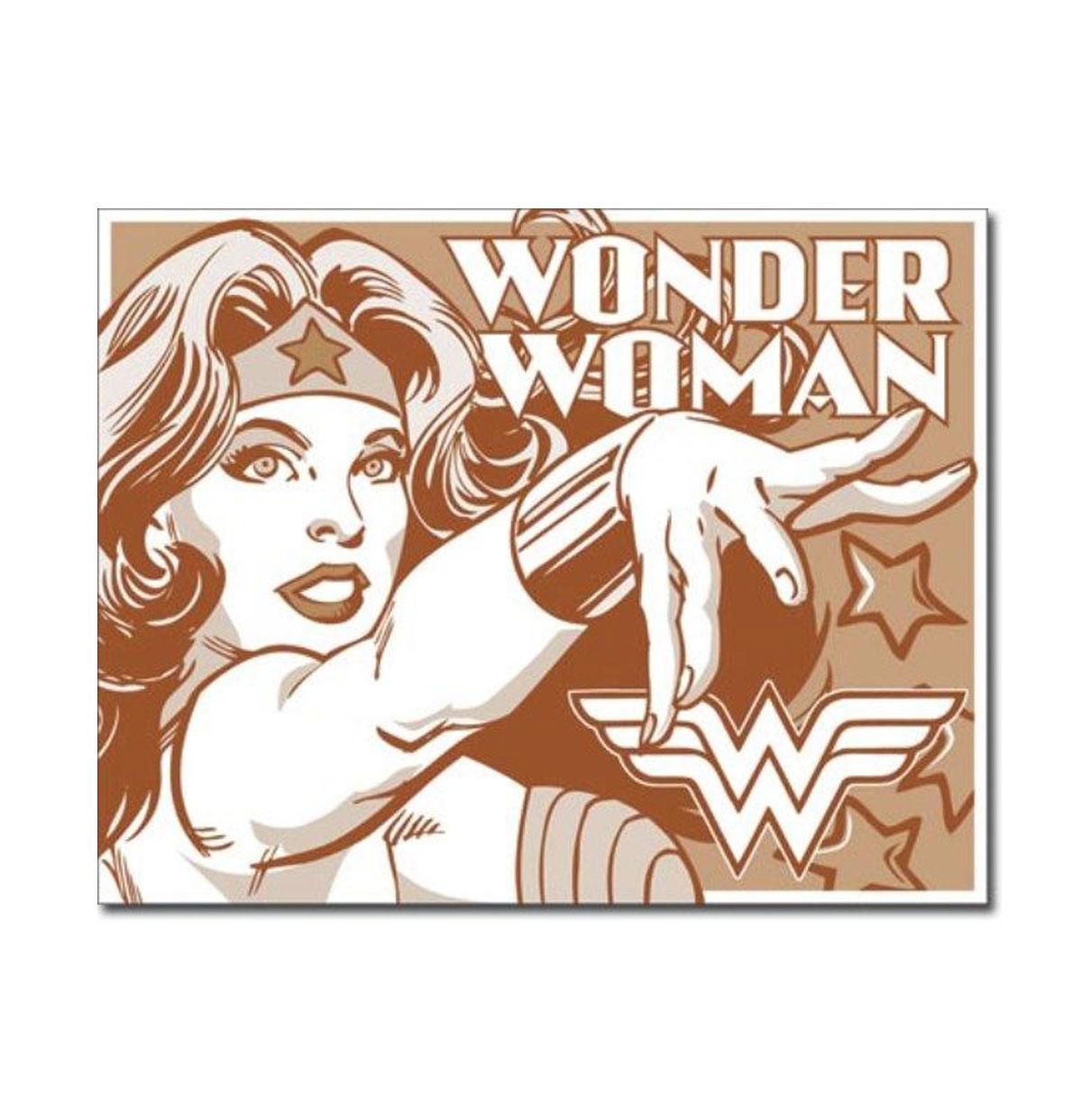Metal Poster - DC Comics - Wonder Woman