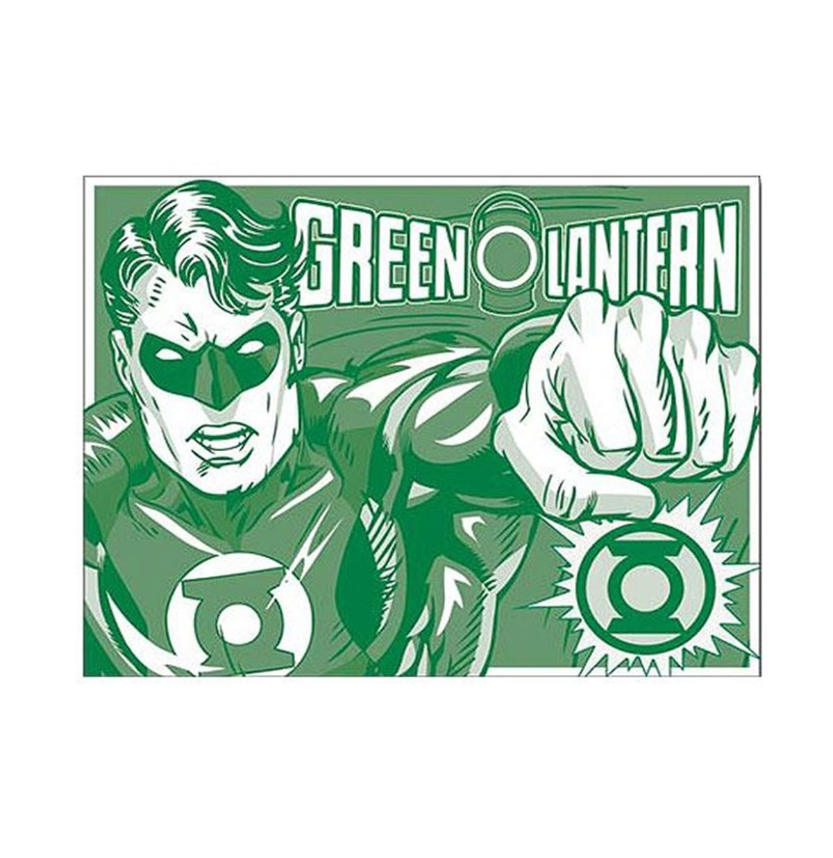 Metal Poster - DC Comics - Green Lantern