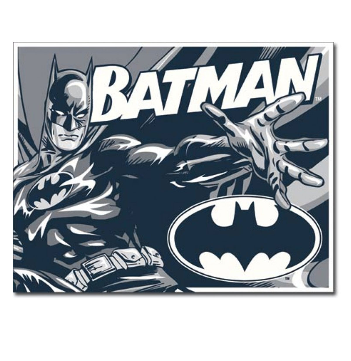 Metal Poster - DC Comics - Batman