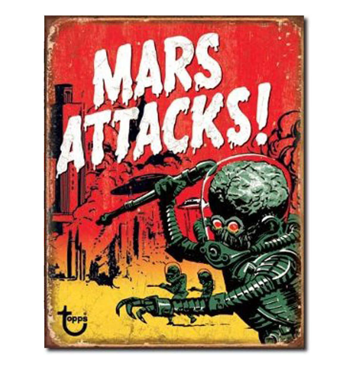 Metal Poster - Mars Attacks