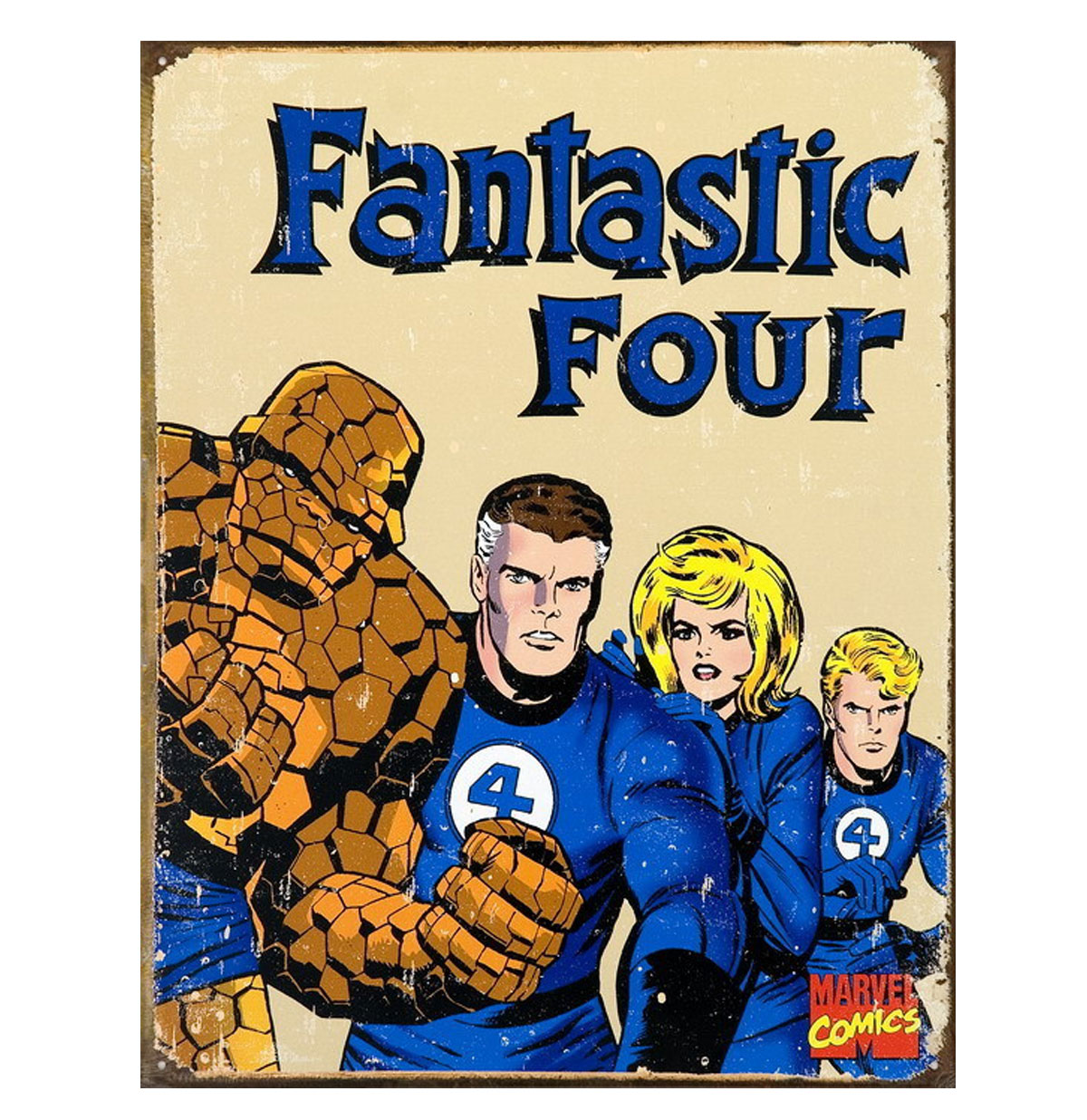 Metal Poster Fantastic Four