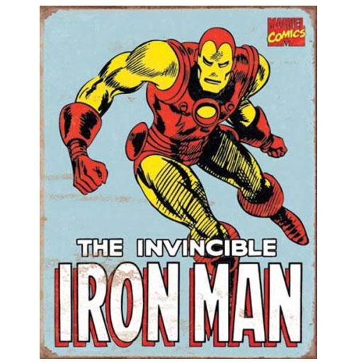 Metalen Poster - Marvel Comics - The Invincible Iron Man