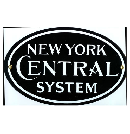 New York Central System Emaille Logobord