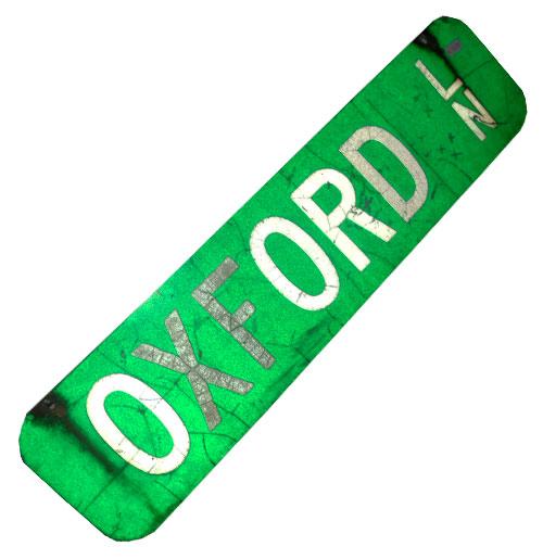 Oxford Ln Straatnaambord
