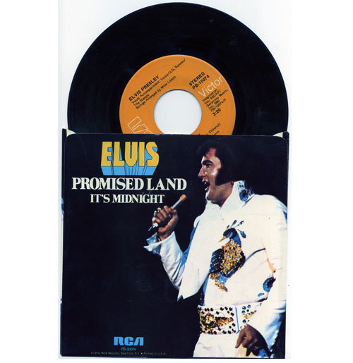 Elvis Presley 45 RPM Promised Land Canada