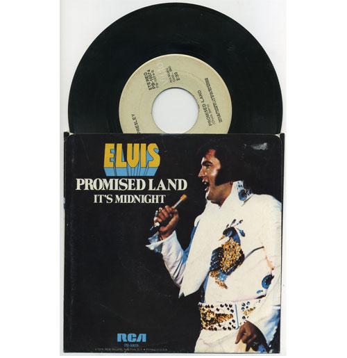 Elvis Presley 45 RPM Promised Land