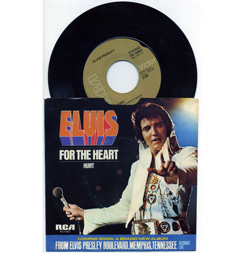 Elvis Presley 45 RPM Hurt