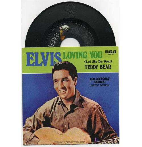 Elvis Presley 45 RPM Loving You