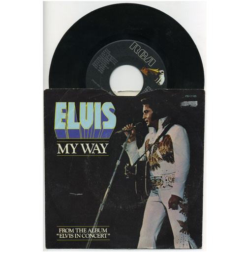 Elvis Presley 45 RPM My Way