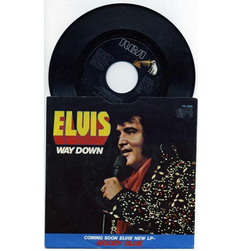 Elvis Presley 45 RPM Way Down