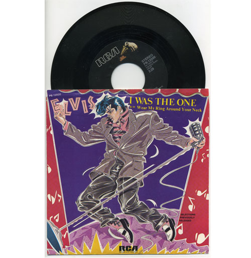 Elvis Presley 45 RPM I Was the One