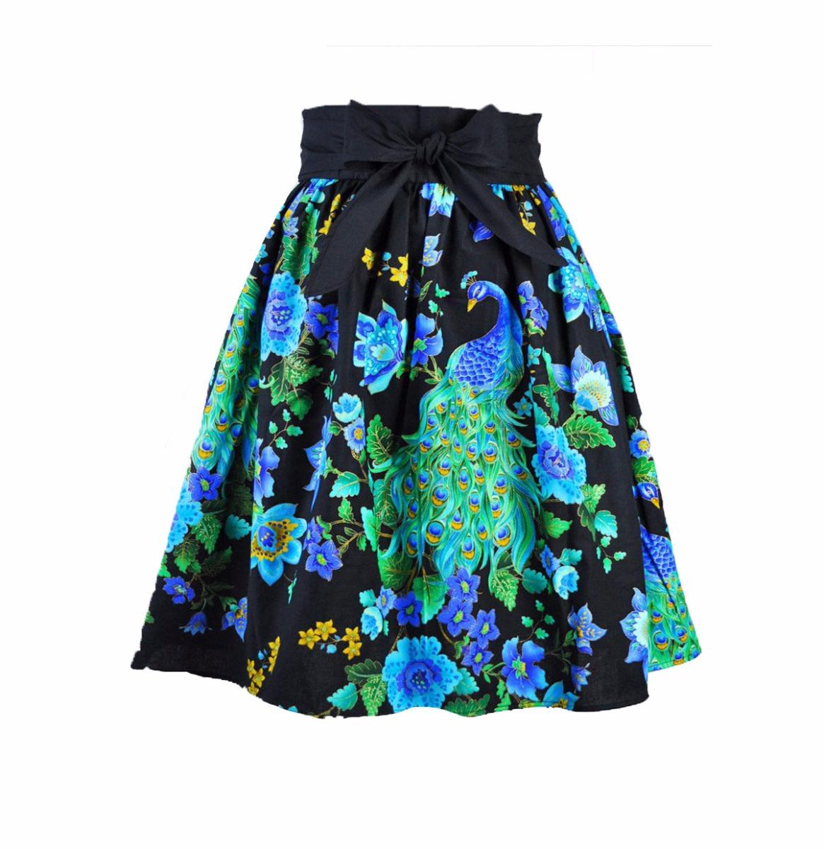 Skirt Peacock Royal