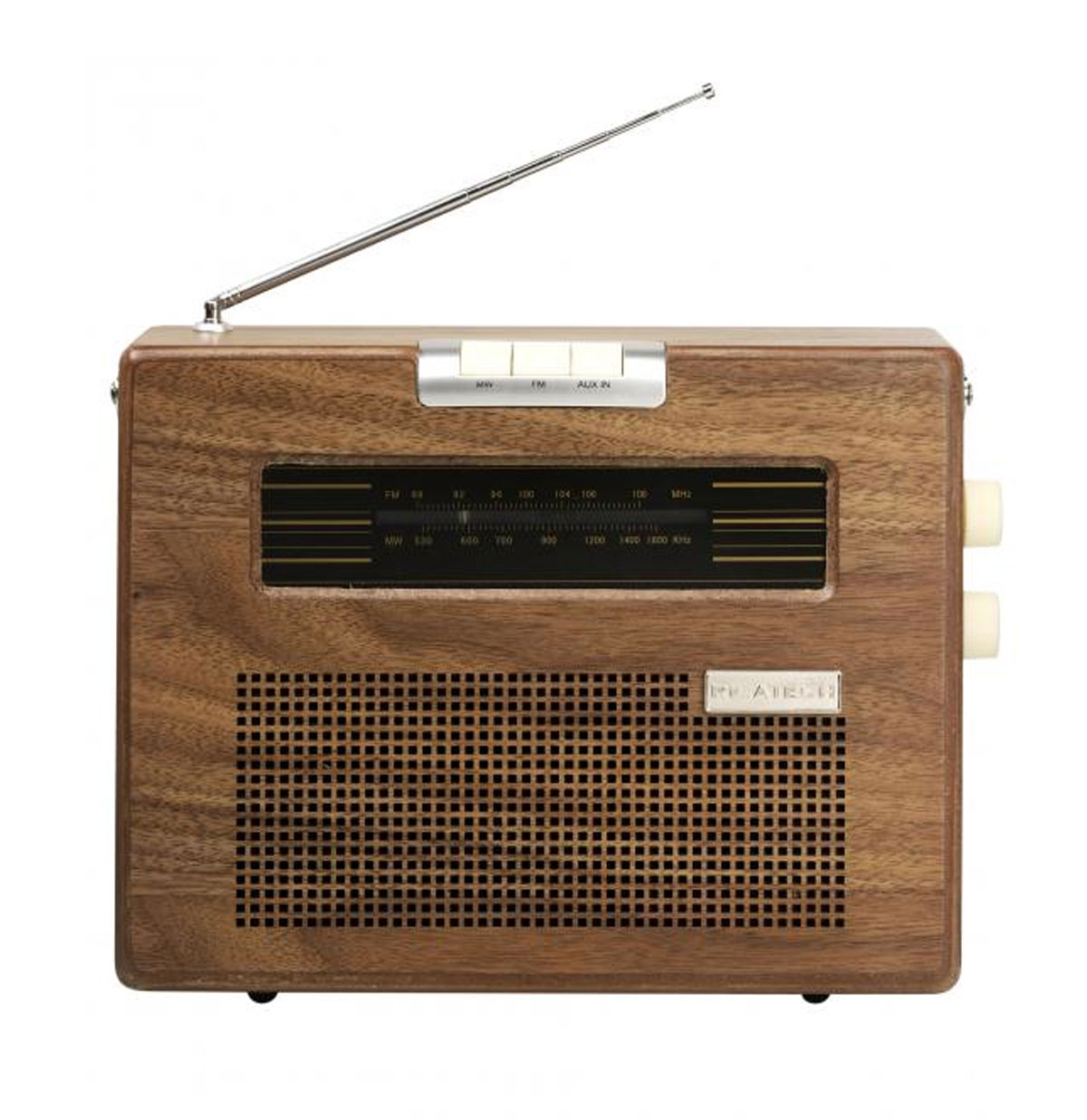 Retro Radio Hout