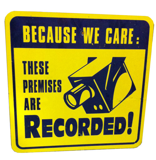 These Premises Are Recorded Bord