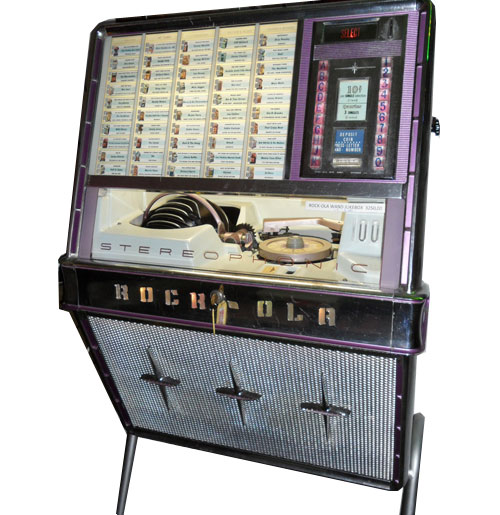Jukebox Rock-Ola 1484 - 100 Sel. Bar Model 1960