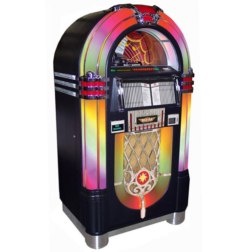 Jukebox Rock-Ola CD Bubbler Zwart