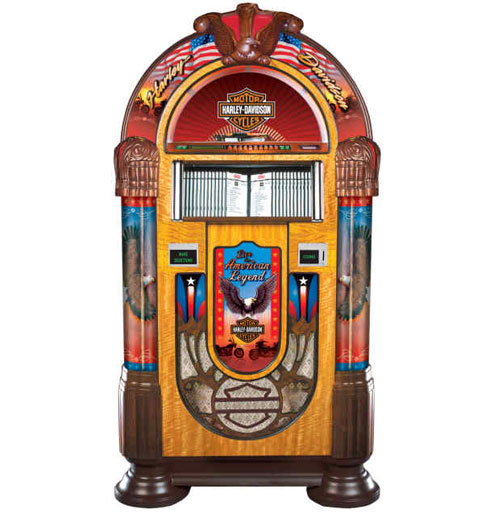 Jukebox Rock-Ola CD Harley-Davidson