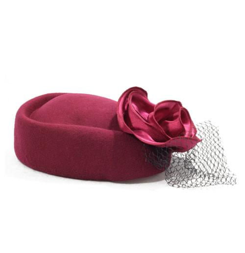 Rosie Hat, Wine Red