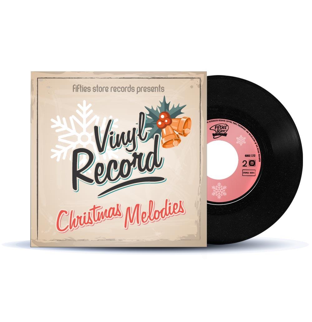 Single: Elvis Presley - Merry Christmas Baby - Santa Claus Is Back In Town