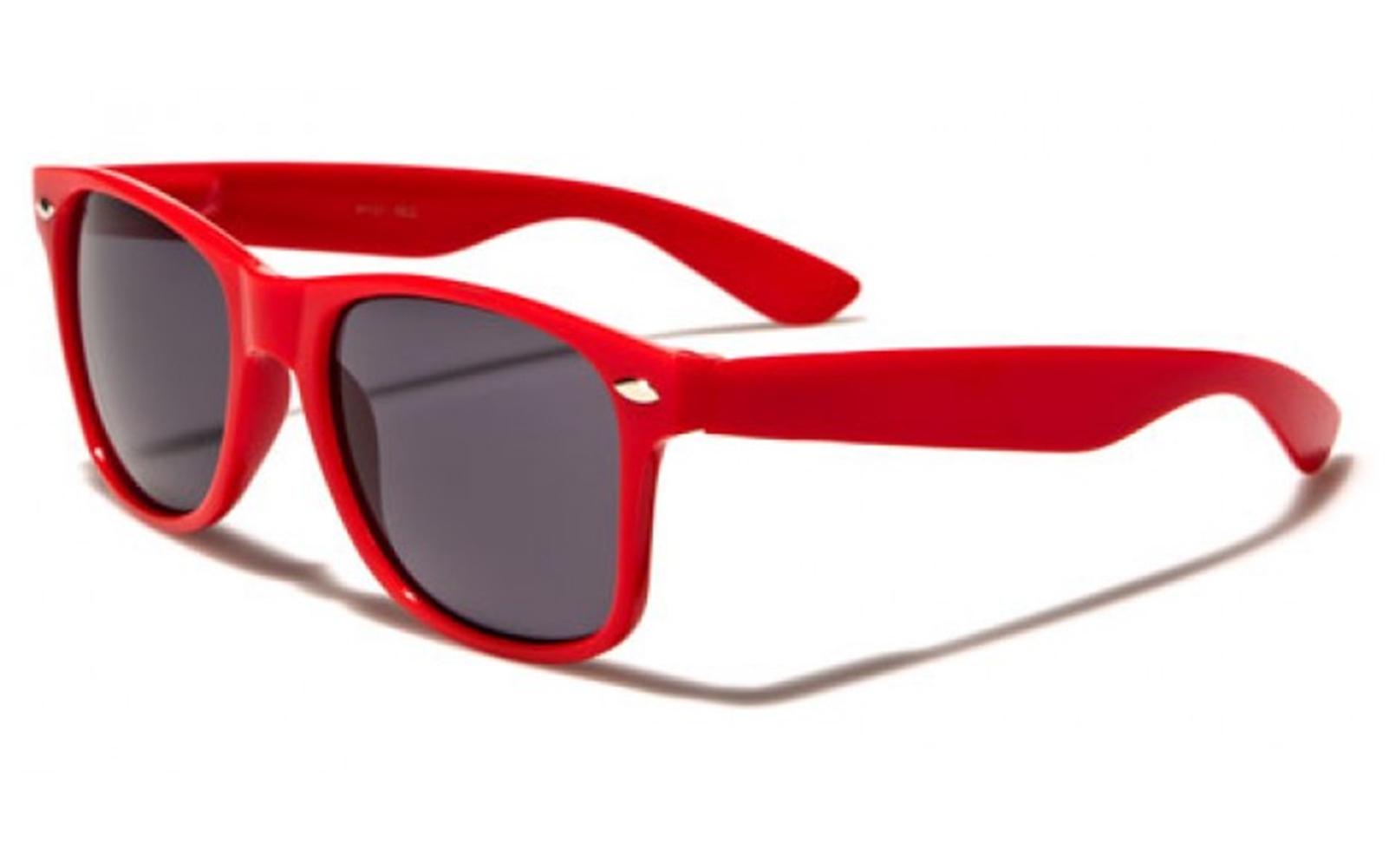 Wayfarer Sunglasses Red