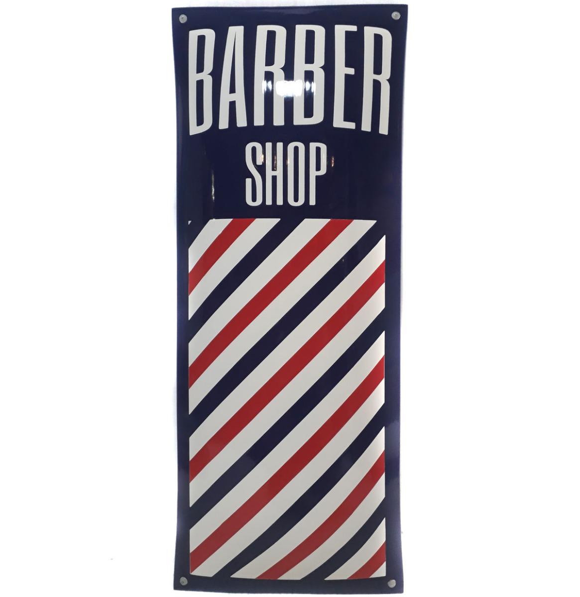 Barber Shop Hoge Kwaliteit Emaille Bord