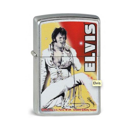 Elvis Presley 70's Betty Harper Design Zippo Aansteker