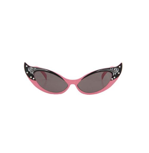 Dames Cat Eye Zonnebril - Vintage Pink